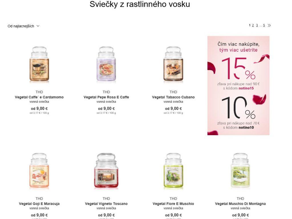 vonne_sviecky_notino