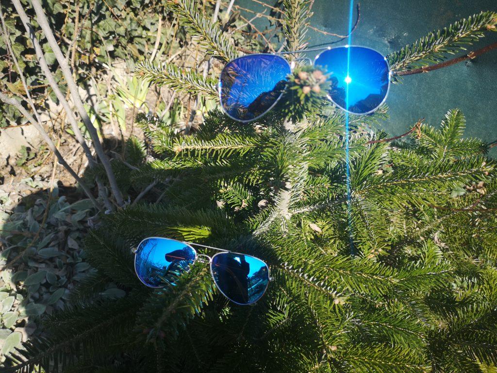 okuliare modre