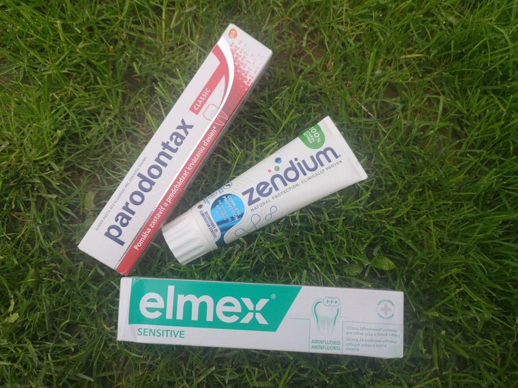 Zubné pasty proti kazu